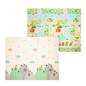 71x78x0.4inch Double-sided Baby Crawling Mat Kids