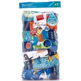 HANES Toddler Boys 7-Pack Day Of The Week Cool Com