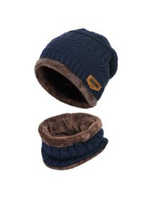Vbiger Kids Winter Knitted Set Knitted Hat Scarf f