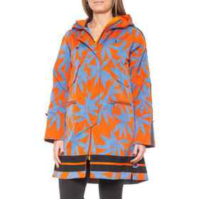 Bogner Karlie Long Printed Rain Coat (For Women) i