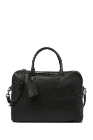 Valentino Perforated Leather Briefcase