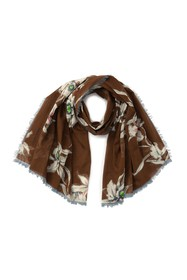Valentino Floral Woven Scarf