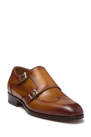 Magnanni Ryan Double Strap Monk Loafer