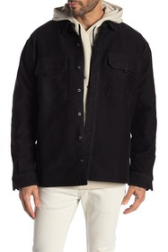 HUDSON Jeans Snap Button Shirt Jacket