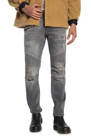 HUDSON Jeans The Blinder Biker Slim Fit Moto Jeans