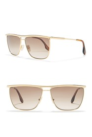 Victoria Beckham 61mm Square Sunglasses
