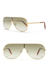 Victoria Beckham 64mm Shield Sunglasses