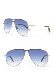 Victoria Beckham 64mm Aviator Sunglasses