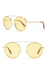 Victoria Beckham 54mm Aviator Sunglasses