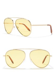 Victoria Beckham 63mm Aviator Sunglasses