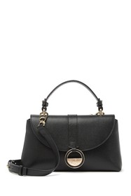 VERSACE COLLECTION Saffiano Leather Small Satchel