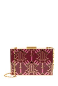 Valentino Patterned Box Clutch