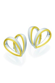 BREUNING Two-Tone 18K Gold Plated Sterling Silver