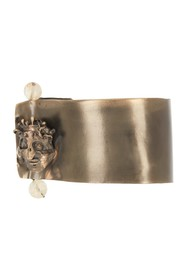 Valentino Beaded Crowned Skull Cuff