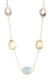 Rivka Friedman 18K Gold Clad Rock Crystal