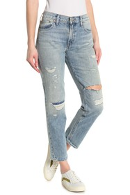 Lucky Brand Sienna Distressed Slim Boyfriend Jeans