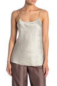 Theory Teah Linen Blend Camisole