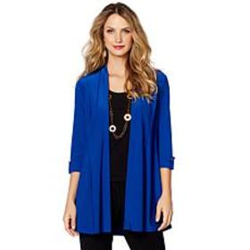 """Antthony """"Color Fusion"""" Cardigan with Tabs"""