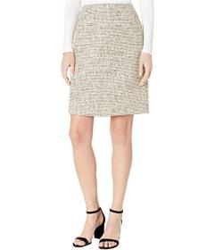 Tahari by ASL A-Line Boucle Skirt