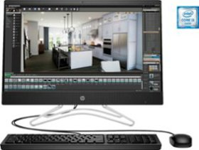 "HP - 23.8"" Touch-Screen All-In-One - Intel Core i3"