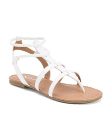 NINA Strappy Gladiator Sandals (Little Kid, Big Ki