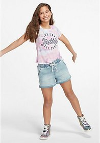 Justice Stretch Waist Classic Shorts
