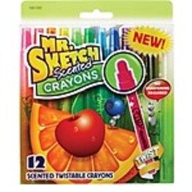Mr. Sketch Scented Twistable Crayons, 12/Pack (195