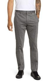 Theory Payton Marled Ponte Knit Straight Leg Pants