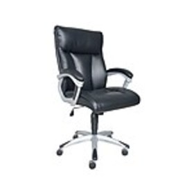 Sealy Burano Leather Executive Chair, Black (9771G