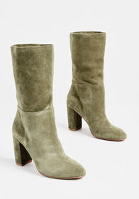 Per-suede Me Boot Green