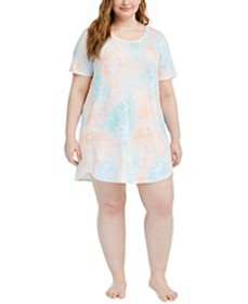 Plus Size Sleep Shirt Nightgown, Created For Macy'