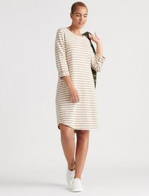 Lucky Brand Stripe Tee Dress