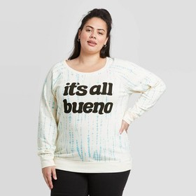Women's Plus Size It's All Bueno Sweatshirt - Zoe+