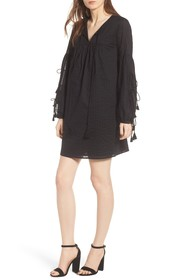 Rebecca Minkoff Dolly Tassel Tie Shift Dress