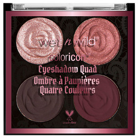 Wet n Wild Rebel Rose Color Icon Eyeshadow Quad Be