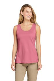 Lands End Women's Cotton Tank Top