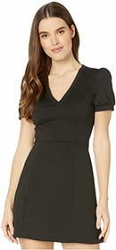 BCBGeneration Short Sleeve Fit-and-Flare Dress XGN