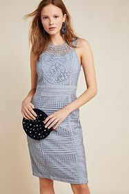 Anthropologie Dylan Lace Mini Dress