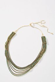 Anthropologie Poe Layered Necklace