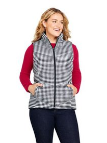 Lands' End Women's Plus Down Vest