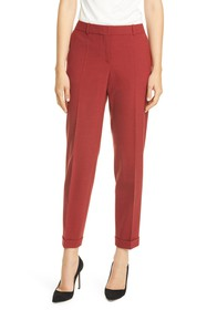 BOSS Tocanes Pinstripe Ankle Trousers