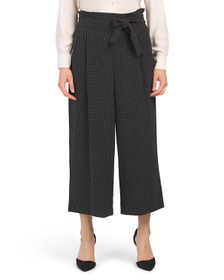 Reveal Designer Belted Trousers