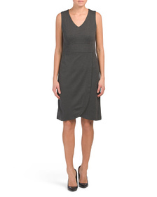 PERSIFOR Made In Usa Solid Gwen Dress