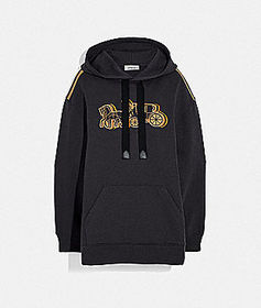 Coach oversized horse and carriage hoodie