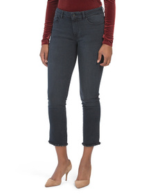 DL1961 High Rise Straight Jeans