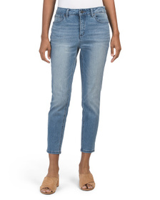 JONES NEW YORK SIGNATURE Lexington Skinny Cropped