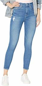 7 For All Mankind High-Waist Ankle Skinny in North