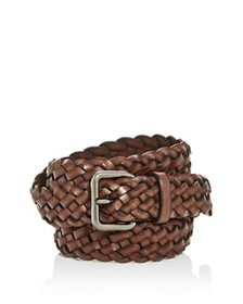 COACH - Men's Woven Leather Belt