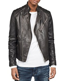 G-STAR RAW - Suzuki Slim Fit Leather Moto Jacket