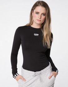 ADIDAS Black Womens Bodysuit_